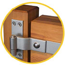 GATE HINGES AND HARDWARE